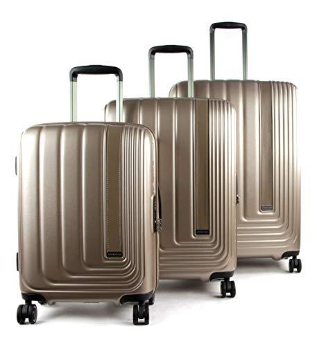 March15 Trading Beau Monde Suitcase 4 Wheels Set 3pcs.