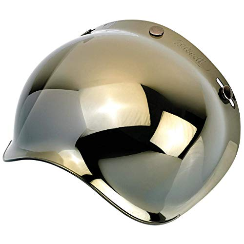 Biltwell unisex-adult (BS-GLD-AF-SD) Bubble Shield-Gold Mirror-Anti-Fog, One -