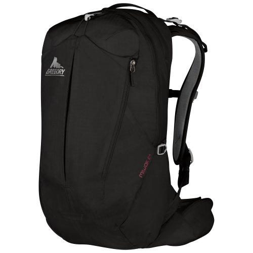 Gregory Mountain Products Miwok 24 Daypack, Storm Black, One Size