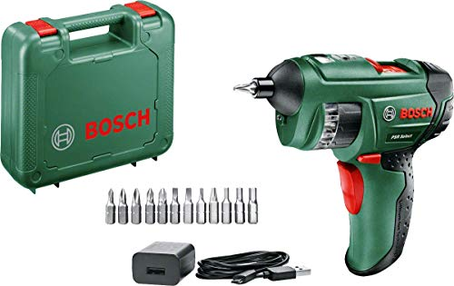 3.6 W Negro bast/ón Met/álico 3.6 V Verde Bosch 0600833105 Tijera Jard/ín ISIO cortac/ésped