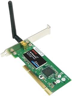 محول Pci للكمبيوتر المكتبي اللاسلكي موديل WLI2PCIG54S 125 من Buffalo Technology مع AOSS