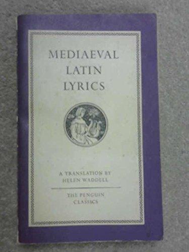 Mediaeval Latin Lyrics