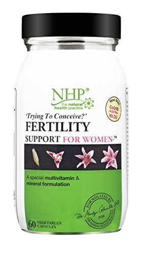 Natural Health Practice Advanced Fertility Support for Women (60 Capsules) Multivitamin & Mineral for Women Wanting to Conceive
