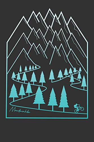 Mountainbike: Mountain Bike MTB Notizbuch Zeichenbuch A5   Geschenk für Mountainbiker Radsportler Fahrrad Fans Kinder Jugendliche Frauen Männer zum ...   120 Seiten mit Punktraster Dot Grid