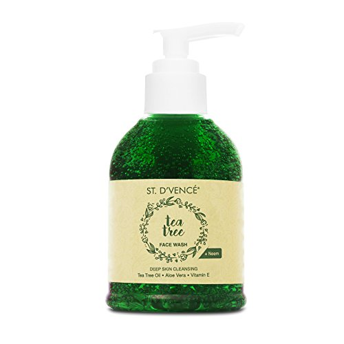 ST. D'VENCE Essential Tea Tree Oil and Neem Face Wash
