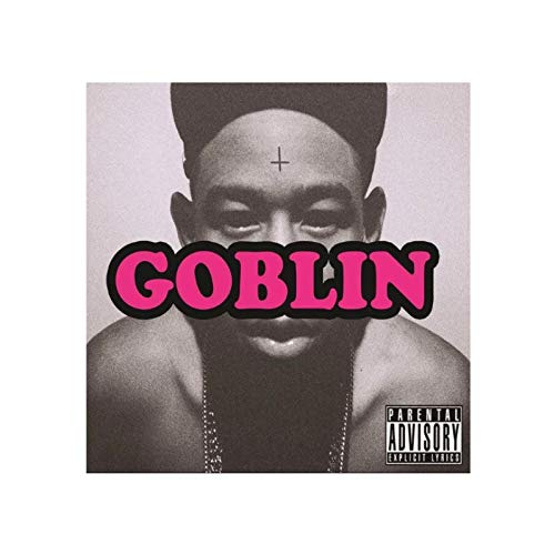 Yopao Tyler The Creator Goblin Poster Album Cover Posters Print Artwork Gift Decoration Wall Art Canvas Painting Living Room Decor-60x60CM no Frame
