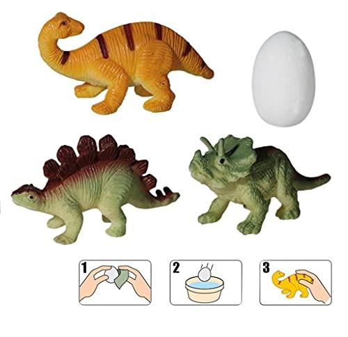 Palleon 4 pezzi magici dinosauri uova che crescono e sbalorditive, idea regalo per compleanno per bambini