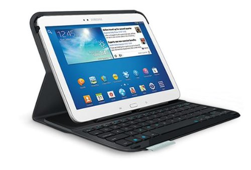 Logitech Ultrathin Keyboard Cover Tab 3 Cover con Tastiera per Tablet/PDA/eBook Reader