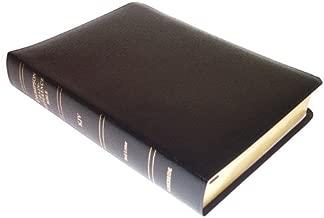 KJV - Black Bonded Leather - Regular Size - Thompson Chain Reference Bible (015090)