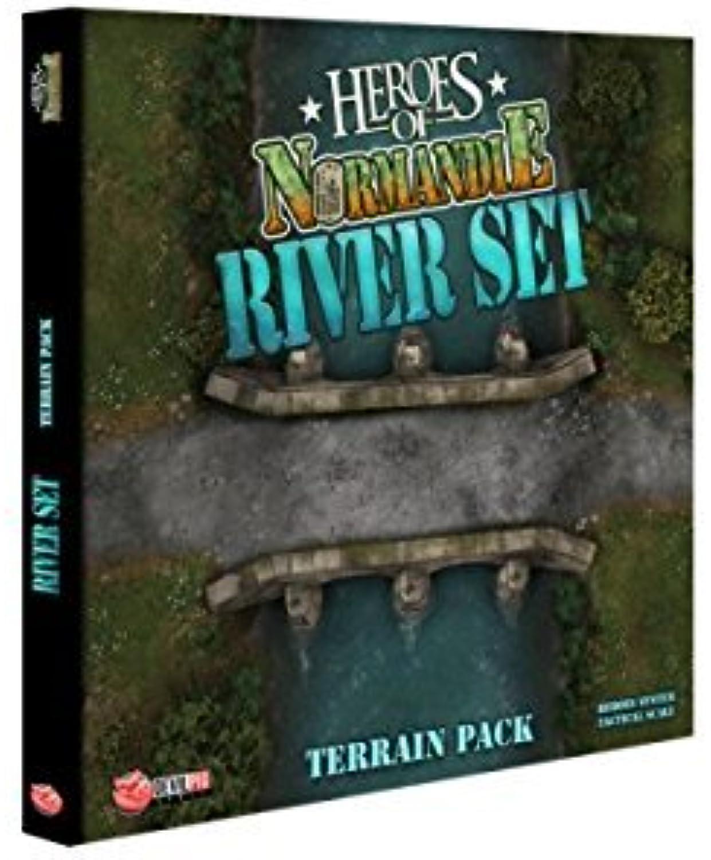 Heroes of Normandie - River Set Terrain Pack Board Game by IELLO B01M7YKP4P Online     | Schöne Farbe