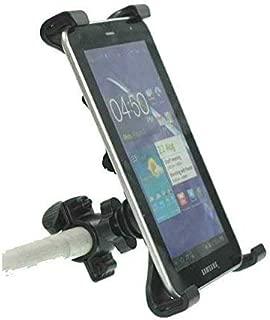 OCTO MOUNT Premium Universal Tablet Mount Holder for Car, Indoor Bicycle, Music Mic Stand, Stroller, Golf Cart, Shopping Cart, Camping, Desktop, Gym, Exercise Bike, Elliptical. TC33