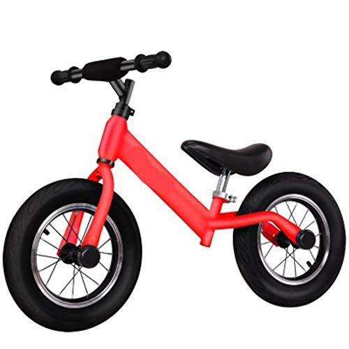 Triciclo de gama alta Triciclo Triciclo Present Trike Bicicleta de equilibrio para niños, Bicicleta de equilibrio ligera Bicicleta de equilibrio sin pedales, Neumático con mango giratorio de 360 gra