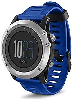 Replacement Band for Garmin Fenix 3 Fitness Smartwatch Accessories Watch Strap Band- Blue