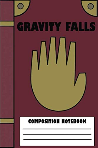 Gravity Falls Notebook : Blank lined notebook with for gravity fall fans | 150 Pages | 6x9 Inches