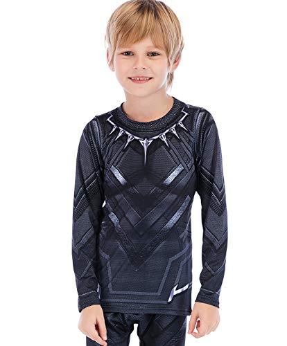 Latta Alvor Cody Lundin - Camiseta de compresión para niño de manga...