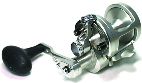 Avet 5.3:1 Lever Drag Conventional Reel, Silver -  Falcon Rods, SX5.3S