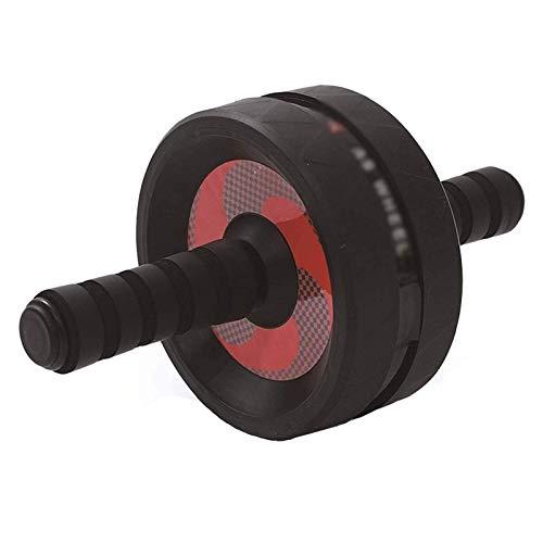 NDYD Dispositivo de Entrenamiento Muscular Abdominal Rueda Abdominal Mute Mute Rueda Abdominal Masculina y Femenina Equipo de Aptitud Deportivo Rodillo Principiante DSB