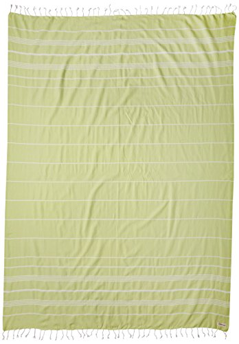 Bersuse Anatolia XXL - Manta turca (100% algodón), Color Verde Pistacho