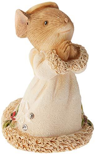 Enesco Heart Mouse Angel Figurine, 1.97-Inch