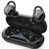 True Wireless Kopfhörer, Fnova Bluetooth Kopfhörer, BT 5,0 In-Ear Ohrhörer Tiefer Bass, 3D Stereo...