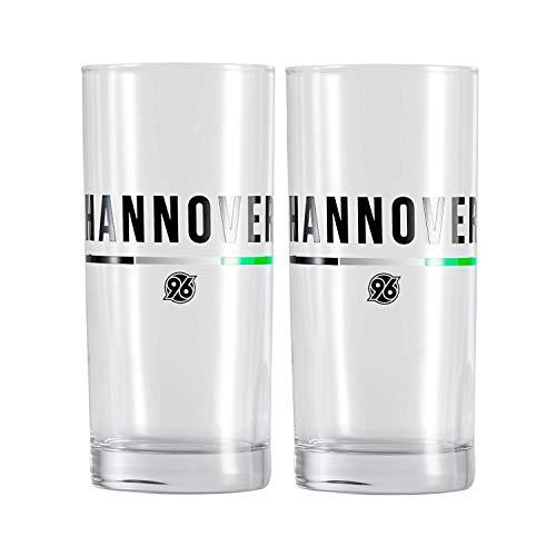 Hannover 96 Saftglas, Trinkglas, Glas 2er-Set Hannover 063702239