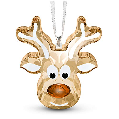 SWAROVSKI Gingerbread Reindeer Christmas Ornament, One Size, Brown (5533944)