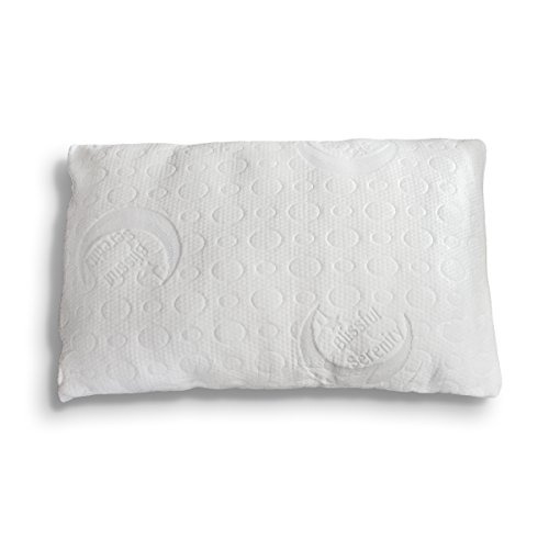 Bamboo Alternative Down Pillow - Adjustable Custom Fit to...