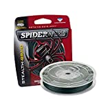 Spiderwire SCS10G-125 Braided Stealth Superline, Moss Green, 10 Pound, 125 Yards