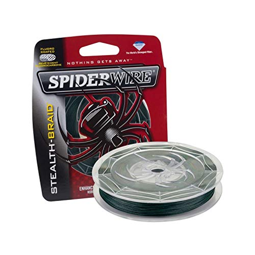 Spiderwire SCS50G-300 Stealth, 300-Yard/50-Pound, Moss Green