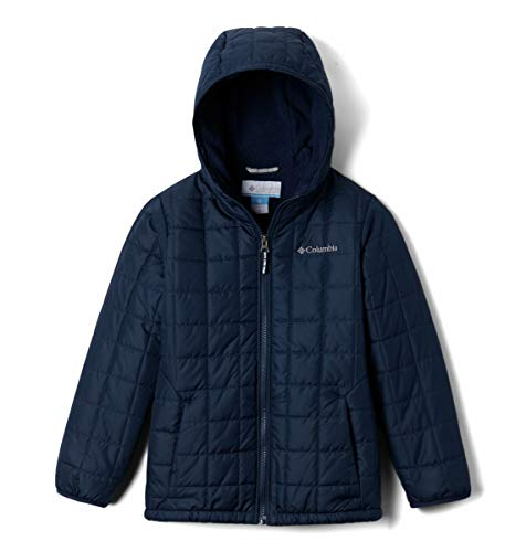 Columbia Boys' Little Rugged Ridge Sherpa Lined Jacket, Collegiate Navy, X-Small