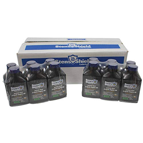 Stens New 2-Cycle Engine Oil 770-646, Twenty-Four 6.4 oz. Bottles per case