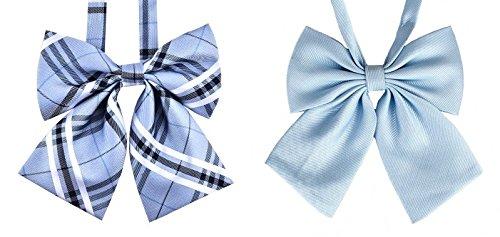 スクールリボン 制服リボン 女子 中学生 高校生 学生服 多種 2個セット Z Eスタイル