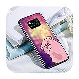 Phone cover Mignon cochon Kawai pour Xiaomi Poco X3 Nfc M3 M2 X2 F3 F2 Pro C3 F1 Mi Play Mix 3 A2 A1...