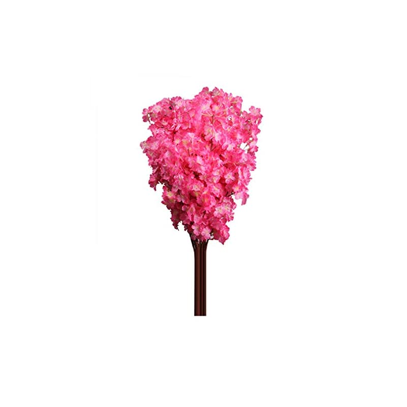 silk flower arrangements soundsbeauty 1 bouquet 3 branches cherry blossom silk artificial flowers home wedding decor