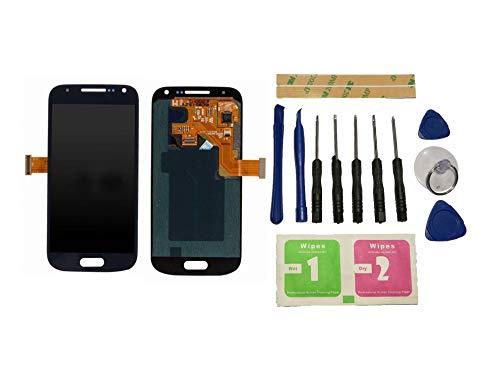 Flügel para Samsung Galaxy S4 Mini i9195 i9190 Pantalla LCD Pantalla Negro Táctil digitalizador Asamblea Pantalla (sin Marco) de Recambio & Herramientas