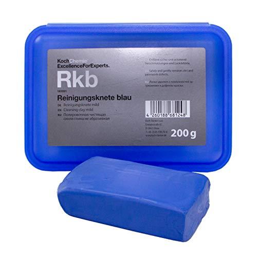 Koch Chemie Reinigung Reinigungsknete Lack Glas Knete blau mild 200 g Knetmasse