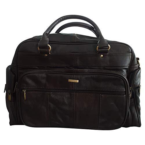Unisex Reisetasche aus Leder, Braun
