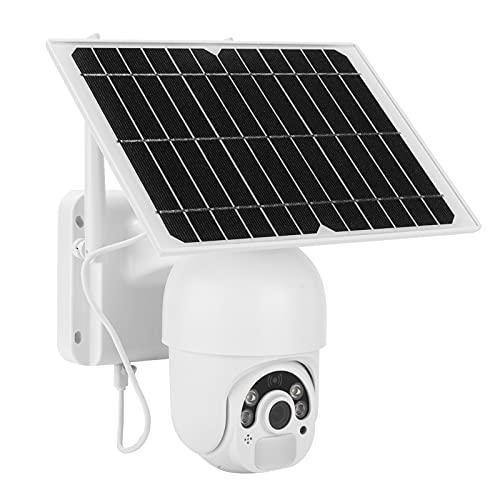 Evonecy Cámara CCTV WiFi, cámara Solar de 2MP, cámara de Seguridad, Color Impermeable, Noche para los suburbios, para el hogar, para Las Tierras de Cultivo, estanques de Peces para Exteriores