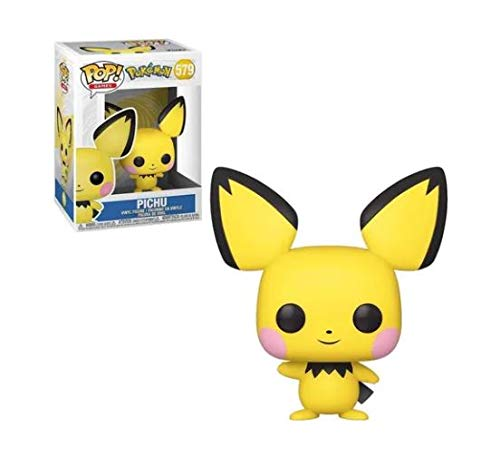 Boneco Funko Pop Games - Pichu 579 - Anime Pokemon Original