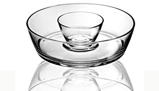 Luigi Bormioli Michelangelo 2 Pc Chip-n-Dip Set, 0, Clear (B0000CCZBP) | Amazon price tracker / tracking, Amazon price history charts, Amazon price watches, Amazon price drop alerts