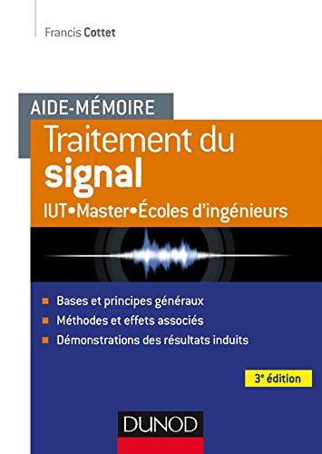 Aide-mémoire - Traitement du signal - 3e éd.
