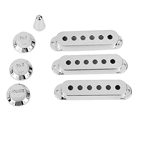 OULII Cubiertas para Guitarra Pastillas Pickup y Perilla de Volumen Tono y...