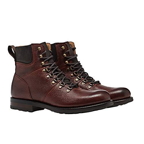 Cheaney Made In England Ingleborough Boots EUR 44 Mahogany Grain
