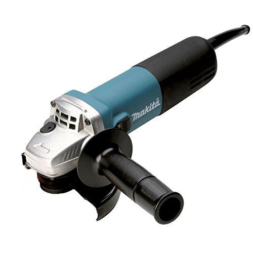 Makita 9558NBRZ Amoladora angular 125 mm, 840 W, Negro y azul, Size