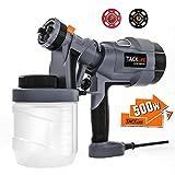 TACKLIFE Paint Sprayer, 500W Paint Gun HVLP Spray Gun Electric Paint Gun