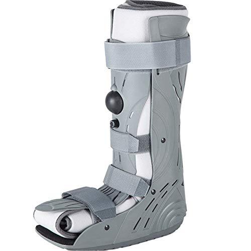 QHGao Aparato Ortopédico Fijo, Botas De Tendón De Aquiles Inflables Completamente Envueltas, Suelas Antideslizantes Que Absorben Los Golpes, Soporte para Caminar/Botas para Caminar,M