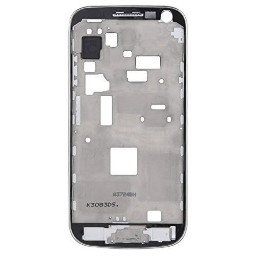 BEIJING  SCREENCOVER+ / Tablero Medio LCD con Cable de botón, para Galaxy S4 Mini / i9195, Reemplazo LCD Placa Placa ATRÁS BIELEL (Color : Negro)