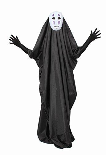 『カオナシフルセット マスク&ロング手袋付き コスチューム フリーサイズ』の1枚目の画像