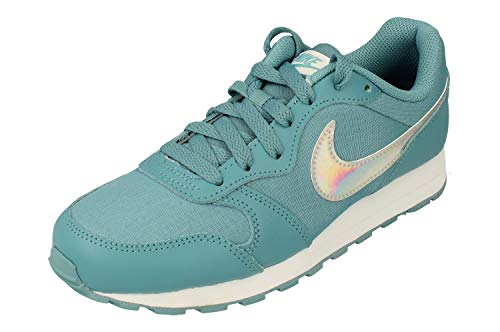 Nike MD Runner 2 FP GS Trainers CJ2141 Sneakers Schuhe (UK 3.5 us 4Y EU 36, Cerulean White 401)
