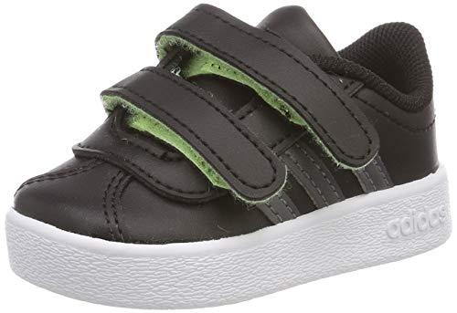 adidas Jungen Unisex Kinder VL Court 2.0 CMF I Fitnessschuhe, Mehrfarbig (Multicolor 000), 25 EU